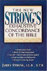 Strong's Concordance, thru the gathering storm